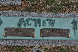 Blanche <I>Liles</I> Agnew