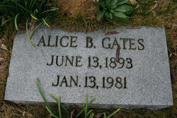 Alice B Gates
