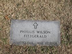Phyllis Dean <I>Wilson</I> Fitzgerald