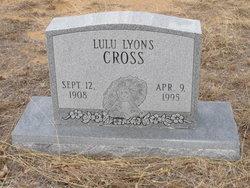 Lulu <I>Lyons</I> Cross