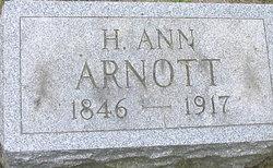 Hester Ann <I>Miller</I> Arnott