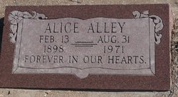 Alice Alley