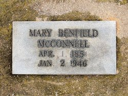 Mary Jane <I>Benfield</I> McConnell