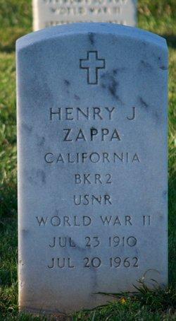 Henry Joseph Zappa