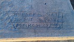 Hepsey <I>Marshall</I> McGirt