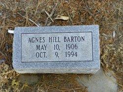 Agnes Lee <I>Hill</I> Barton