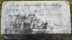 Charity <I>Bufkin</I> Womack