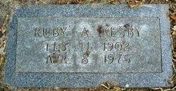Ruby A. Kesby