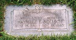 Maybelle Elizabeth <I>Brown  Dudleston</I> Nollsch
