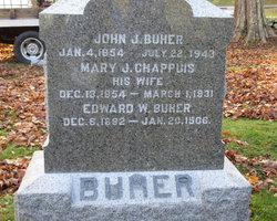 Mary J <I>Chappins</I> Baher