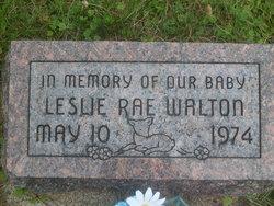 Leslie Rae Walton
