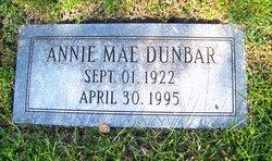 Annie Mae <I>Newton</I> Dunbar