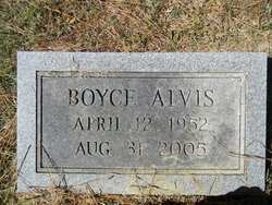 Boyce Alvis