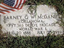 Barney G McDaniel