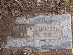 Orin Clarence Richardson