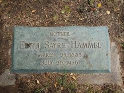 Edith H. <I>Sayre</I> Hammel