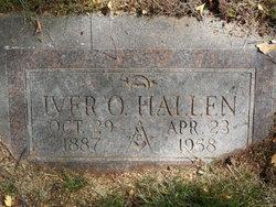 Iver Oliver Hallen