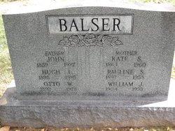 Pauline <I>Staab</I> Balser