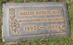 Adelaide Kathrine Beck