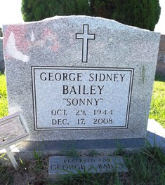 "George Sidney ""Sonny"" Bailey"