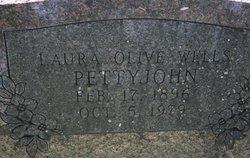 Laura Ollie <I>Davis</I> Wells Pettyjohn