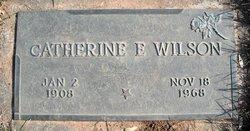 Catherine E <I>VanVactor</I> Wilson