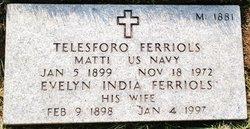 "Telesforo ""Ted"" Ferriols"