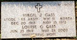 Virgil J Gass