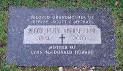 """Margaret """"Peggy"""" <I>Swart</I> Abersfeller"""