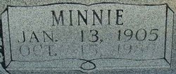 Minnie M <I>Rector</I> Armstrong