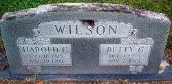 Harold C. Wilson