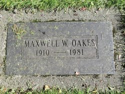 Maxwell W Oakes