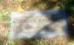 Marjorie Bell <I>Hancy</I> Lanning