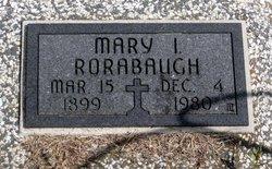 Mary I Rorabaugh