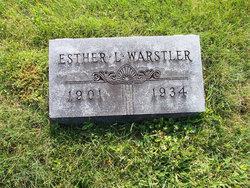 Esther Lucile <I>Likens</I> Warstler
