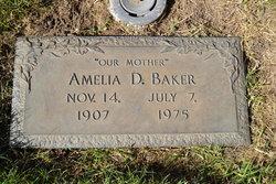 Amelia <I>Drachenberg</I> Baker