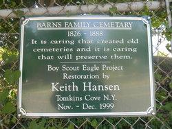 Barns Family Cemetery