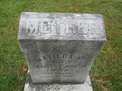 Matilda Mary <I>Lampman</I> Johnson