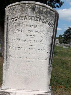 """Elizabeth Wright """"Betsy"""" Greenland"""
