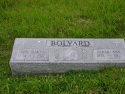 Sarah Ann <I>Hershman</I> Bolyard