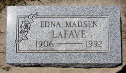 Edna <I>Madsen</I> LaFave