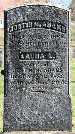 Laura Ann <I>Lyman</I> Adams