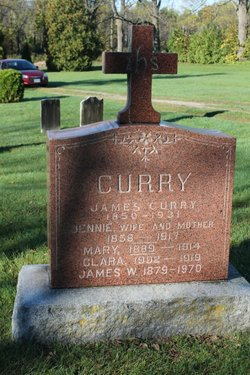 "Jane ""Jennie"" <I>Donnelly</I> Curry"
