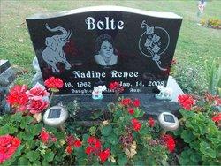 """Nadine Renee """"Dina"""" Bolte"""