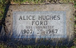 Alice <I>Hennessey</I> Ford
