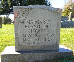 Margaret Mary <I>Blandford</I> Kidwell