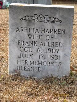 Aretta Harden <I>Herring</I> Allred