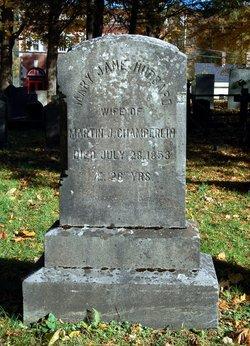 Mary Jane <I>Hubbard</I> Chamberlin