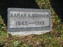 Sarah A. <I>Downey</I> Dunham