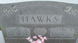 Pauline Ardean <I>Rippey</I> Hawks